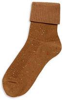 Hue Triple Roll Tweed Socks
