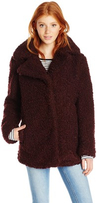Celebrity Pink CelebrityPink Juniors' Faux Fur Coat