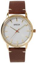 Frank + Oak Breda Watch - Zapf in Brown/Orange
