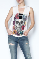 The Classic Floral Skull Tee
