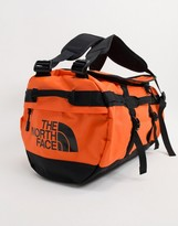 The North Face Base Camp small duffel bag 50L in orange