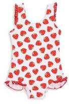Florence Eiseman Baby's & Toddler's Strawberry-Print Swimsuit