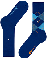 Burlington Argyle Socks, One Size, Pack Of 2