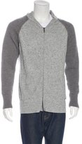 Just Cavalli Wool Zip Sweater