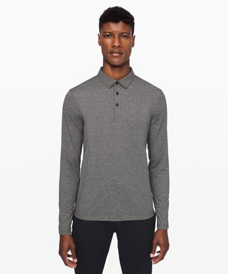 Lululemon Evolution Long Sleeve Polo