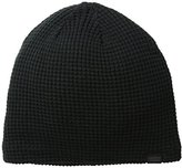 Levi's Men's Waffle Knit Beanie with Sherpa Lining