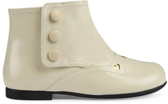 Gucci Kids Toddler ankle boot