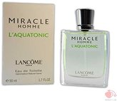 Lancôme Miracle Homme L' AQUATONIC By For Men. Eau De Toilette Spray 50ml / 1.7 Oz