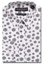 Nick Graham Floral Button-Down Shirt