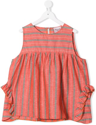 Mariuccia Milano Kids Striped Tunic Top