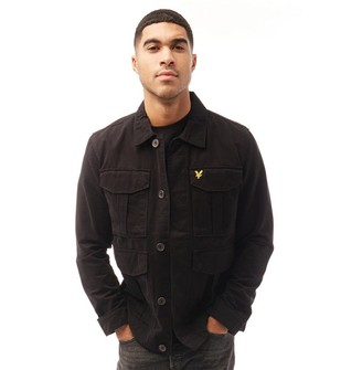 Lyle And Scott Vintage Mens Utility Jacket Jet Black