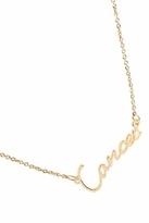 Rebecca Minkoff Cancer Zodiac Necklace in Gold