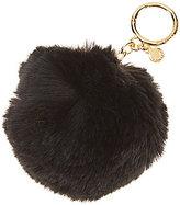MICHAEL Michael Kors Faux-Fur Pom Pom Key Charm