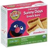 Earth's Best Sesame Street Sunny Days Snack Bars