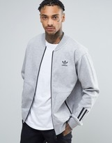 adidas Paris Pack Relaxed Track Jacket In Gray BK0521
