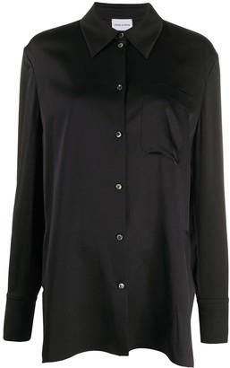 Magda Butrym Oversized Silk Shirt