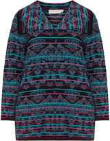 Isolde Roth Plus Size Jacquard knitted cardigan
