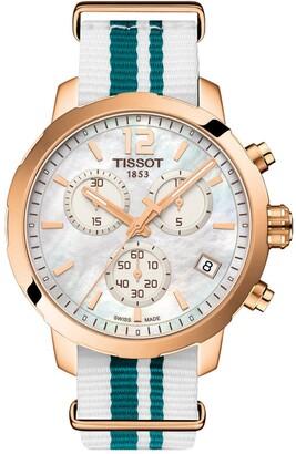 Tissot Unisex Quickster NATO Chronograph Watch, 42mm