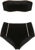 Adriana Degreas hot pants velvet bikini set