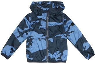 Woolrich Kids B'S printed jacket