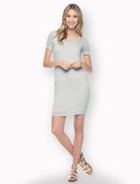 Splendid Winward Micro Stripe T-Shirt Dress