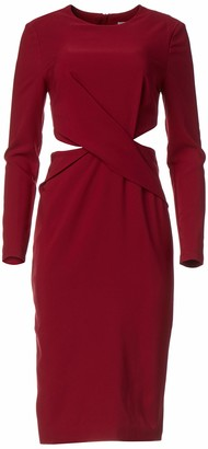 Finders Keepers findersKEEPERS Women's Revolution Long Sleeve Cut Out Sheath Dress