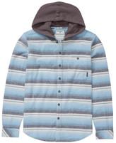 Billabong Baja Hooded Flannel Shirt (Toddler Boys, Little Boys & Big Boys)