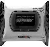 Anthony Logistics For Men TM) Glycolic Exfoliating & Resurfacing Wipes