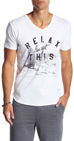 Kinetix Relax Front Graphic Print Tee