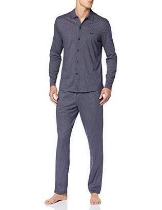 Hom Men's LYS Long Sleepwear Pyjama Set,XX-Large (Size: 2)