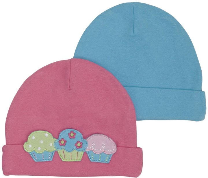 Gerber 2-Pk Novelty Cap Girl - Multicolor-12-24 Months