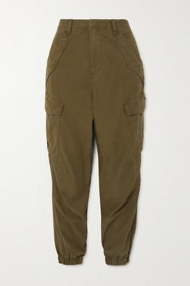 rag & bone - Field Cotton-twill Tapered Pants - Green