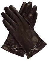 Salvatore Ferragamo Leather Gancini Gloves w/ Tags
