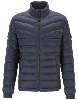 HUGO BOSS Lightweight slim-fit down jacket with water-repellent finish