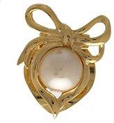 AJ Fashion Jewellery MANON tone faux Pearl Scarf Clip