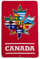 Canadian Paralympic Committee CPC Provincial Leaf Fleece Blanket