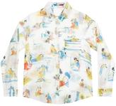 G.KERO Japanese Love Button Down Shirt