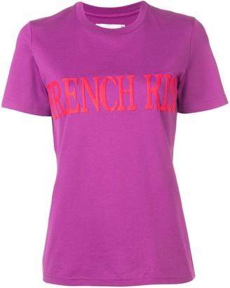 Alberta Ferretti French Kiss print T-shirt