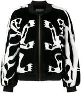 Balmain tiger bomber jacket