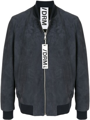Drome Suede-Effect Bomber Jacket