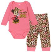 Disney Minnie Mouse 'Daddy's Girl' Bodysuit & Pants