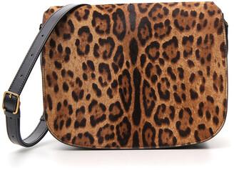 Saint Laurent Chiara Leopard Print Bag