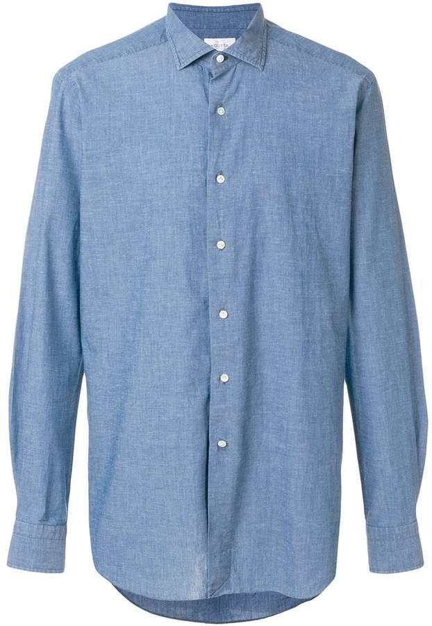 Bagutta chambray shirt