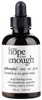 philosophy when hope is not enough serum, 4 oz