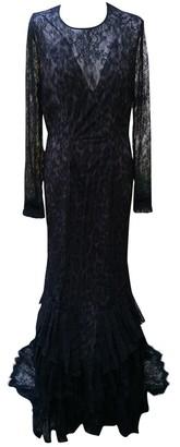 Roberto Cavalli Black Lace Dress for Women