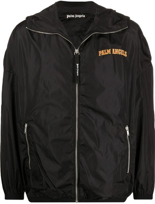 Palm Angels Logo Print Lightweight Jacket