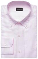 Ermenegildo Zegna Striped Buttoned Down Dress Shirt