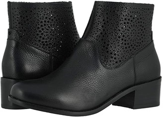 Vionic Luciana Perf (Black) Women's Boots