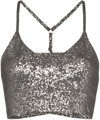 Sweaty Betty Foil Print Sports Bra
