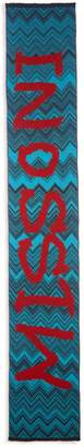 Missoni Chevron Logo Wool-Blend Scarf